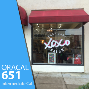 ORACAL 651 Intermediate Cal