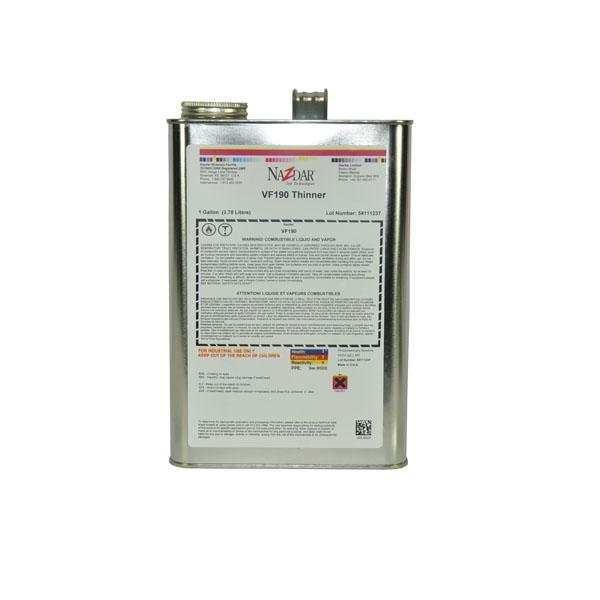Mclogan Supply Company Nazdar Vf190 Thinner Vf190 18 60