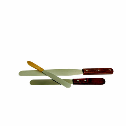 Metal Steel Ink Spatula's
