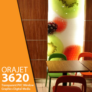 ORAJET 3620 - Transparent PVC Graphics Inkjet Media