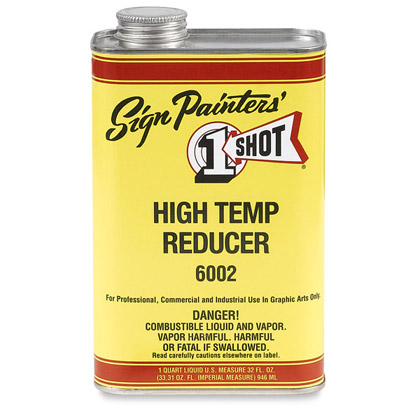 1 Shot 6002 high temp Reducer