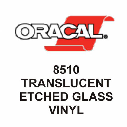 8510 Translucent Etched Glass Cal