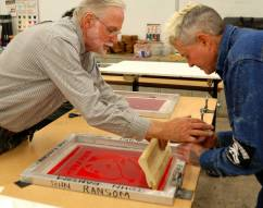 Los Angeles Trade Technical College for Sign Makers and Screen Printers