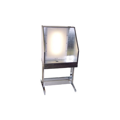 Ranar Econo Backlit Washout Booth, Sink