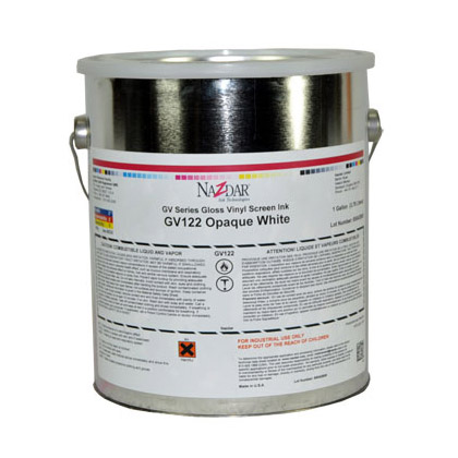 Nazdar GV Series Vinyl Ink with a Gloss Finish