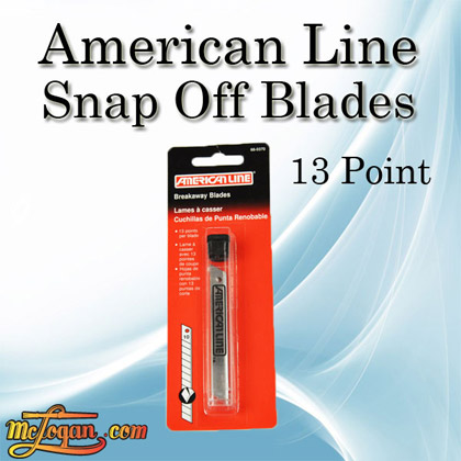 American Line Snap Off Blades 13 Point 10PK 66-0370
