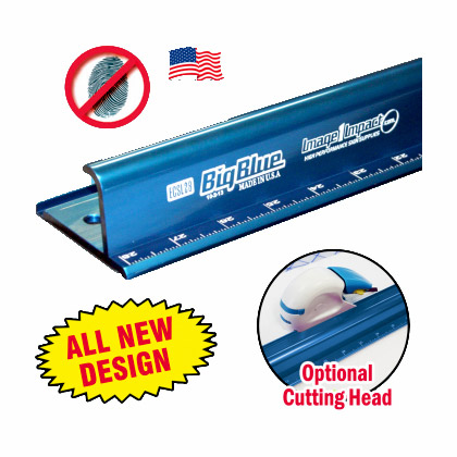 Big Blue Saftey Rulers