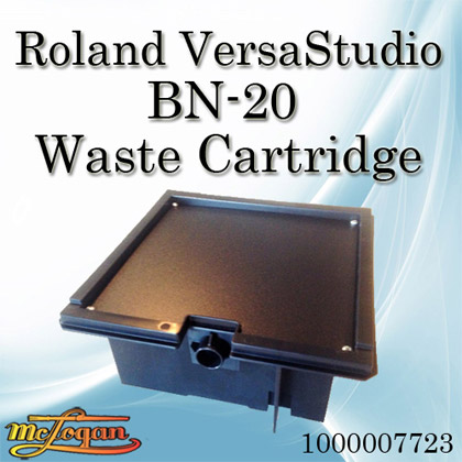 roland versastudio bn 20 waste cartridge 1000007723 at mclogan 39 s. Black Bedroom Furniture Sets. Home Design Ideas