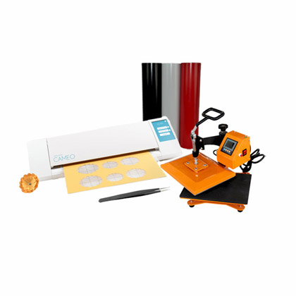 Graphtec's Silhouette CAMEO™ and Heat Press Starter Kit