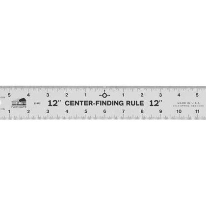 Center Finding Rulers 36""