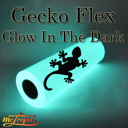 Gecko Flex Glow in the Dark Heat Transfer Vinyl 19""