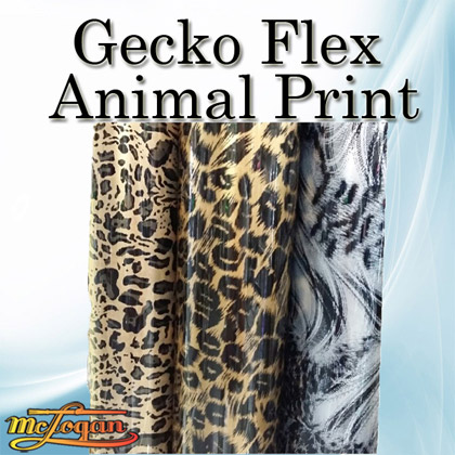 Gecko Flex Animal Print Heat Transfer Vinyl 19""