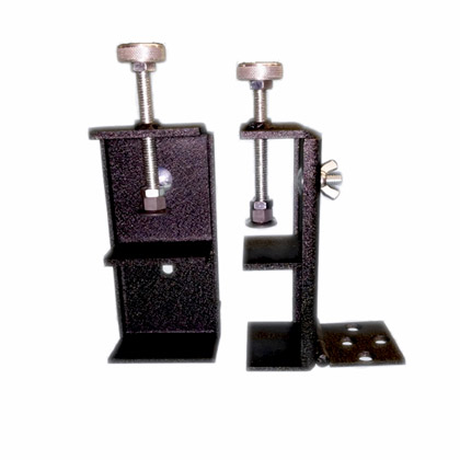 Adjustable Height Hinge Clamps (Pair)