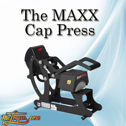 The MAXX� Cap Heat Press by Stahls�