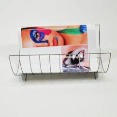 Chrome Plated Material Saver Rack