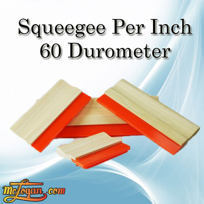 Squeegees Per Inch 60 Durometer