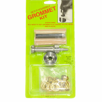 Set It Yourself Grommet Kits