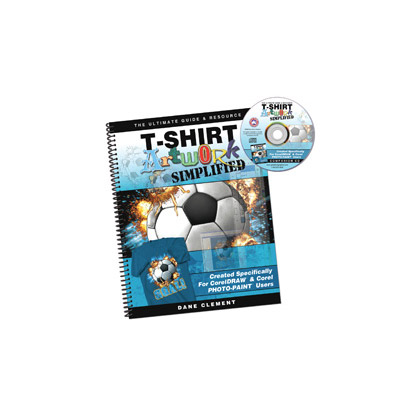 Screen printing t shirt artwork simplified corel for T shirt screen printers for sale