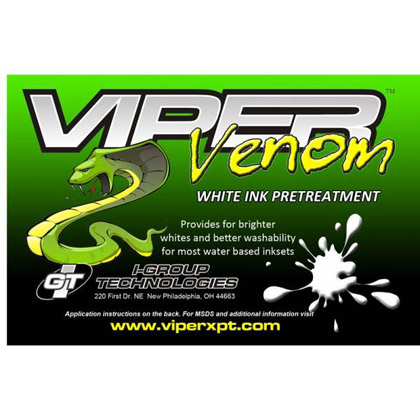 Viper Venom Pre-Treatment for White Ink