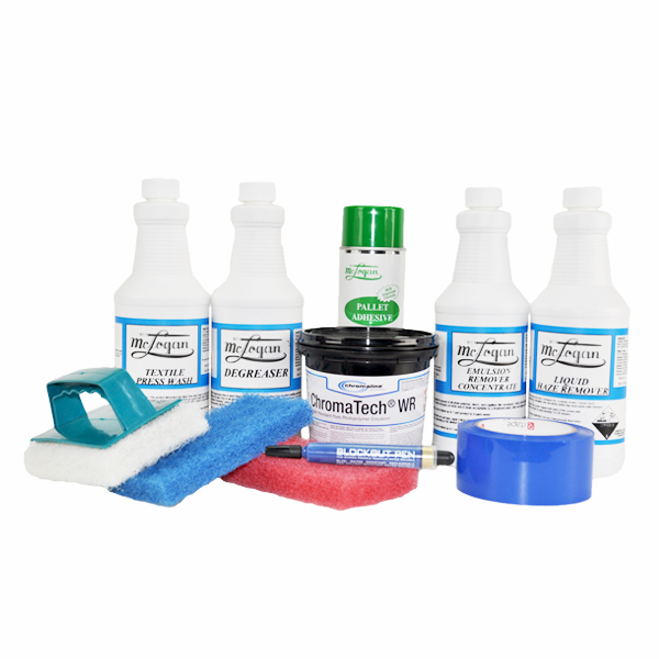 Plastisol Chemical Kit